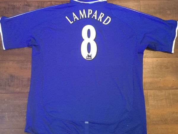 2003 2005 Chelsea Lampard Home Football Shirt Adults XXL 2XL